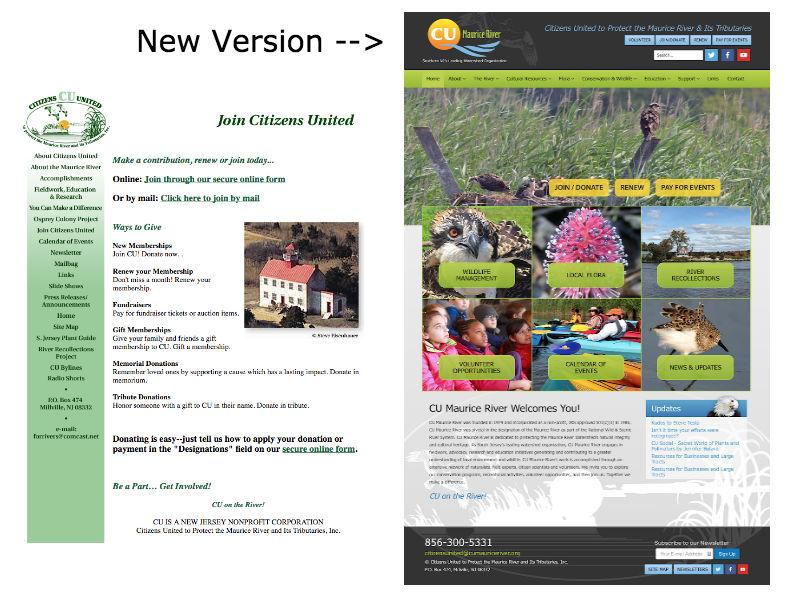 Project Spotlight: CU Maurice River Website